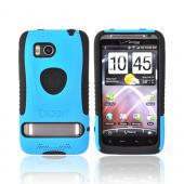 Original Trident Aegis HTC Thunderbolt Hard Cover Over Silicone Case w/ Screen Protector, AG-THDB-BL - Blue/Black