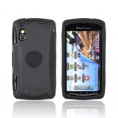 Original Trident Aegis Sony Ericsson PLAY Hard Cover Over Silicone Case w/ Screen Protector, AG-XPER-PY-BK - Black