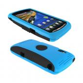 Original Trident Aegis Sony Xperia PLAY Hard Cover Over Silicone Case w/ Screen Protector, AG-XPER-PY-BL - Blue/ Black