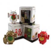 "Original Android Lucky Cat Mini Collectable 3"" Blind Box Figurine"