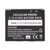 Premium Casio G'zOne Hitachi Ravine C751 Standard Battery Replacement (1020mAh)