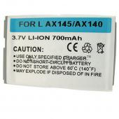 Standard Replacement Battery for LG AX-145 / AX-140 / Aloha / UX-140 / 200c