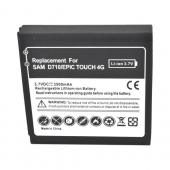 Samsung Epic 4G Touch Extended Battery w/ Door - Black (2400 mAh)