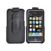 Original Seidio Apple Verizon/ AT&T iPhone 4, iPhone 4S Innocase Surface Combo Hard Case w/ Holster, BD2-HR3IPH4P-BK - Black