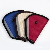 Red Triangle Child Car Safety Belt Adjuster Pad