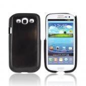 Exclusive TPhone Eco-Design Samsung Galaxy S3 Wood Back Cover Case - Black Sonokeling Wood