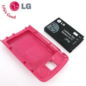 Original LG Venus VX8800 Extended Battery w/ Pink Battery Door