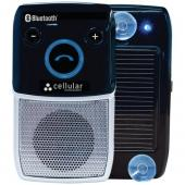CELLULAR INNOVATIONS HFBLU-SOLAR SOLAR-POWERED BLUETOOTH(R) HANDSFREE SPEAKERPHONE