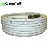 Cellphone-Mate CM400 Ultra-Low-Loss Coaxial Cable CM001-100 (100 ft) - White