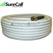 Cellphone-Mate CM400 Ultra-Low-Loss Coaxial Cable CM001-50 (50 ft) - White