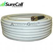 Cellphone-Mate CM400 Ultra-Low-Loss Coaxial Cable CM001-75 (75 ft) - White