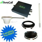 Cellphone-Mate SureCall™ Dual Band Signal CM2000-WL55dB SOHO Amplifier Kit for Small Room- CHARLIE