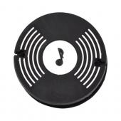 Universal Headset Cord Wrapper - Black,White Record