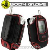 Original Body Glove Universal Impact Black with Red Trim Small Pouch (FS)