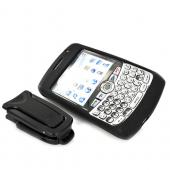 Original Body Glove Blackberry Curve 8330, 8320, 8310, 8300 Silicone Case, Rubber Skin - Black