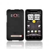 Original Seidio HTC EVO 4G Innocase Surface Rubberized Hard Case, CSR3HEV4-Bk - Black