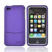 Original Seidio Apple Verizon/ AT&T iPhone 4, iPhone 4S Innocase Surface Rubberized Hard Case, CSR3IPH4P-PR - Amethyst Purple