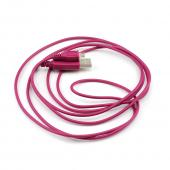 Marvelous Magenta 6 ft. Micro USB to USB Charge & Sync Data Cable