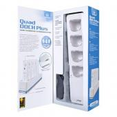 Original DreamGear Quad Dock w/ LED Charge Indicator for Nintendo Wii