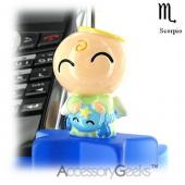 Baby Angel Cell Phone Holder & Display - Scorpio