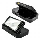 Motorola Droid A855 / Milestone Horizontal Twin Cradle Phone/Battery Desktop Charger - Black
