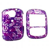 PCD Cricket TXTM8 Hard Case - Floral on Purple