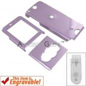 Sony Ericsson W350 Hard Case - Purple