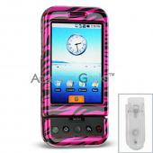 T-Mobile G1 Hard Case - Pink Zebra
