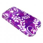 T-Mobile MyTouch 3G Hard Case - Floral on Purple