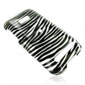 Verizon HTC Imagio Hard Case - Silver/Black Zebra