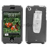 Apple iPhone Protective Hard Case - Carbon Fiber