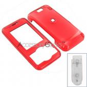 LG Chocolate Hard Case - Transparent Red