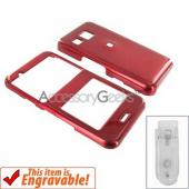 LG Invision Hard Case - Red