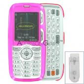 LG Rumor Hard Case - Transparent Magenta