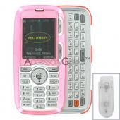 LG Rumor Hard Case - Transparent Pink