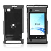 Motorola Devour A555 Hard Back Cover Case - Black