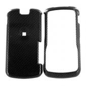 Motorola Clutch i465 Hard Case - Carbon Fiber