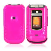 Motorola Brute i680 Hard Case - Hot Pink