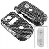 Motorola V325 Hard Case - Carbon Fiber