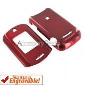 Motorola MotoRAZR VE20 Hard Case - Red