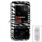 Nokia XpressMusic Hard Case - Zebra