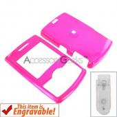 Samsung Propel Hard Case - Hot Pink