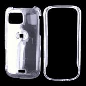 Samsung Mythic A897 Hard Case - Transparent Clear