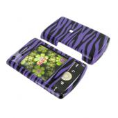 Samsung Propel Pro i627 Hard Case - Purple Zebra