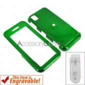 Samsung Instinct Hard Case - Green