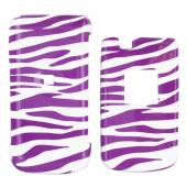 Samsung Myshot 2 R460 Hard Case - Purple Zebra