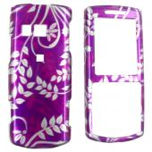 Samsung Messager II R560 Hard Case - Floral on Purple