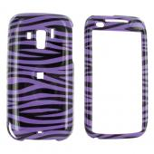 Verizon HTC Touch Pro 2 Hard Case - Purple Zebra