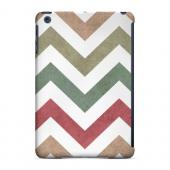 Geeks Designer Line (GDL) Slim Hard Case for Apple iPad Mini - Grungy Green/ Red on White