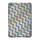 Geeks Designer Line (GDL) Slim Hard Case for Apple iPad Mini - Grungy Pastel Steps